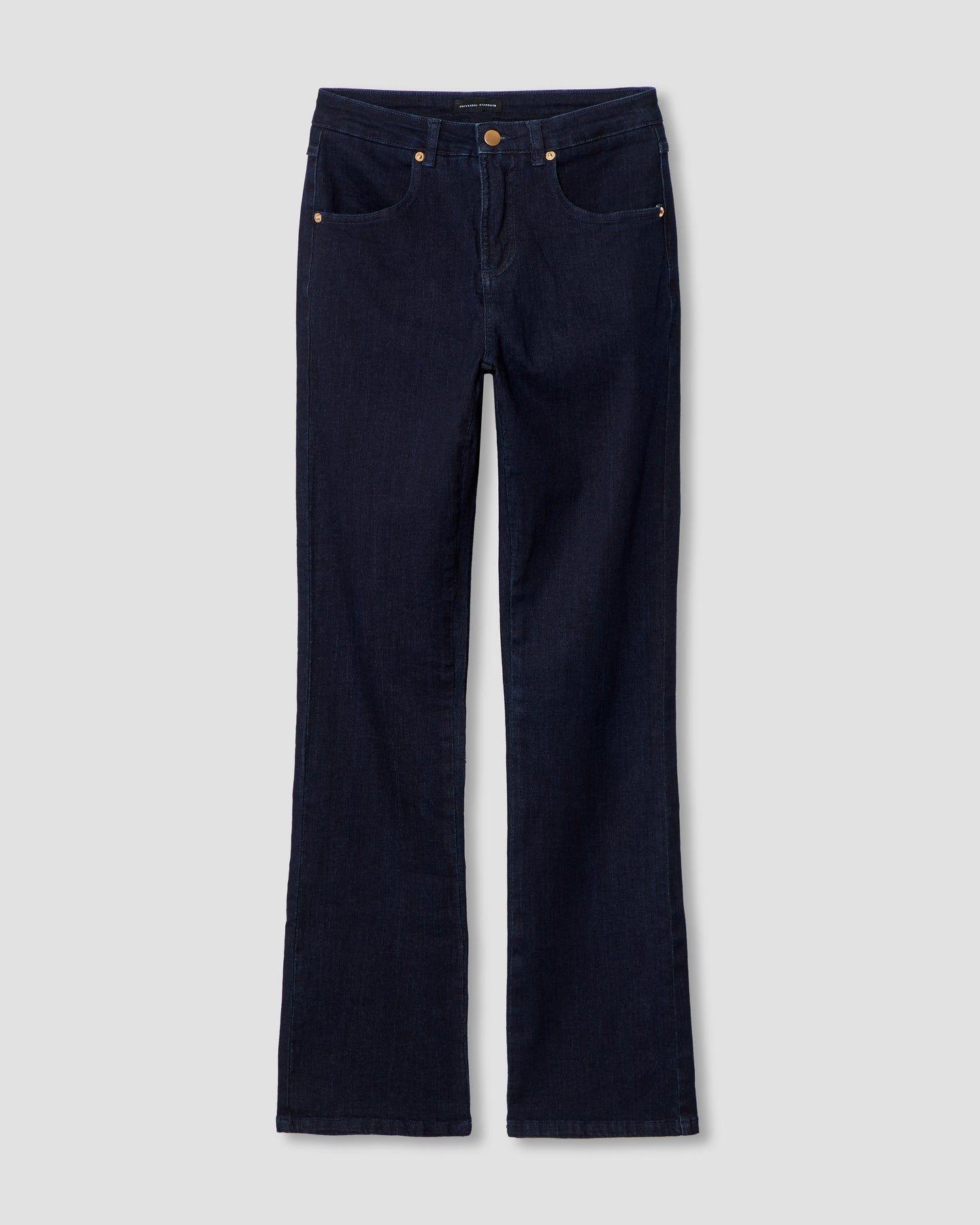 Marne Bootcut Jeans 32 inch - Dark Indigo - image 1