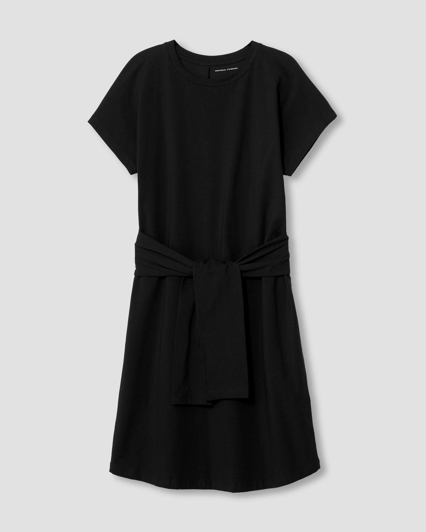 Misa Jersey Dress - Black - image 1