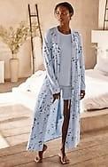sleep ultrasoft belted long robe