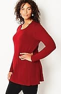 elise a-line sweater tunic