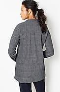 wearever textured-plaid jacket