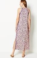 island breeze printed maxi dress