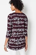 luxe supima® a-line tunic