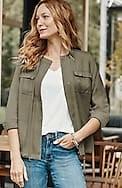 soft safari jacket
