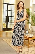 wearever sleeveless v-neck maxi dress