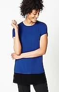 wearever color-blocked tunic