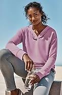 fit ultimate-fleece shirttail hoodie