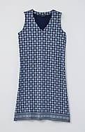wearever v-neck a-line dress
