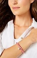 seaside finds stretch bracelet