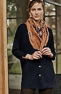 easy button-front knit tunic