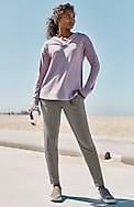 fit ultimate-fleece patch-pocket joggers