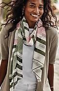 shadow-stripe scarf