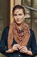 paisley jacquard scarf