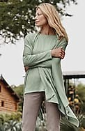 ultra-luxe silk-blend three-way wrap