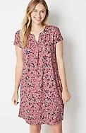 wearever center-pleat shirttail dress