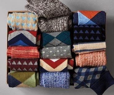 box of socks