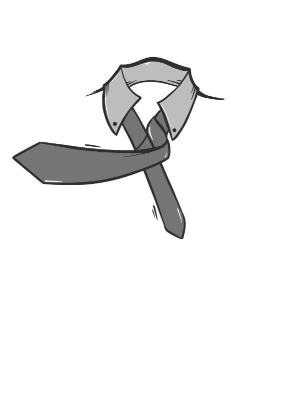 The Half Windsor Knot Step5
