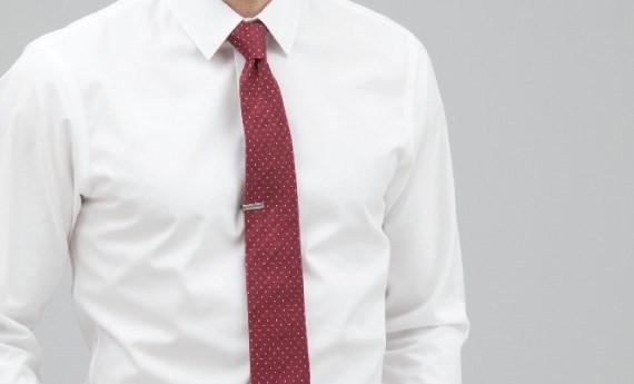 Shop Tie Bar Essential White Shirts