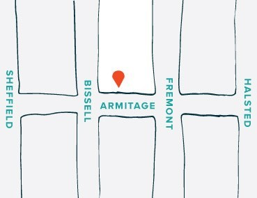 Tie Bar - Chicago Flagship Store Location Map
