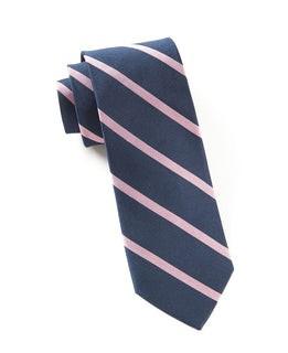Trad Stripe Navy Tie