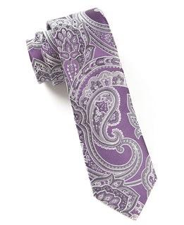 Aaron Paisley Eggplant Tie