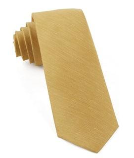 Sand Wash Solid Mustard Tie