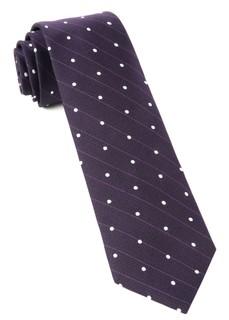 Ringside Dots Eggplant Tie