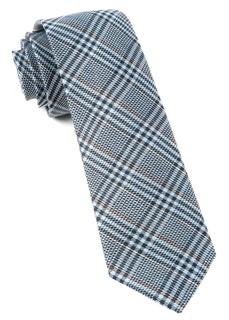 Columbus Plaid Light Blue Tie