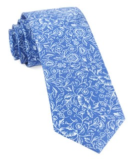 Bracken Blossom Royal Blue Tie