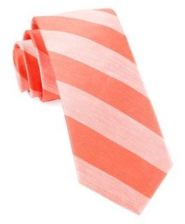 Rsvp Stripe Coral Tie