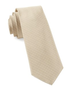 Mini Dots Light Champagne Tie