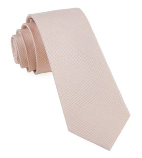 Bhldn Blush Textured Solid Blush Tie