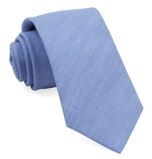 South End Solid Periwinkle Tie