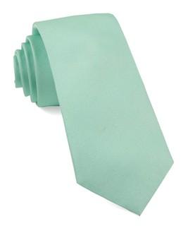 Grosgrain Solid Spearmint Tie