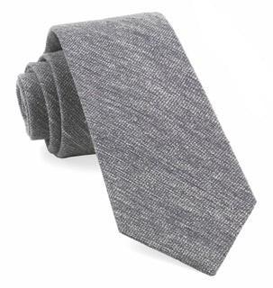West Ridge Solid Grey Tie