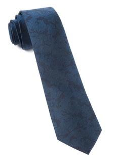 Refinado Floral Navy Tie