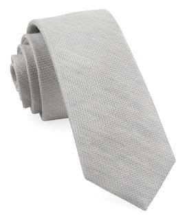 Bhldn Jet Set Solid Grey Tie