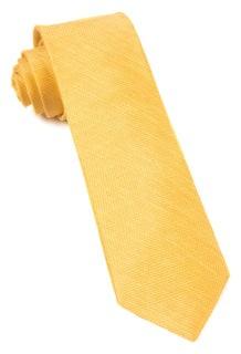 Jet Set Solid Yellow Gold Tie