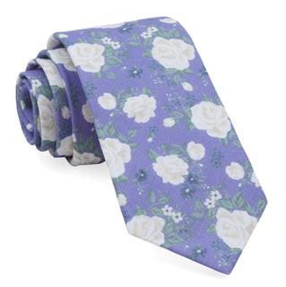 Hodgkiss Flowers Lavender Tie