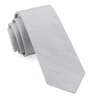 Bhldn Linen Row Silver Tie