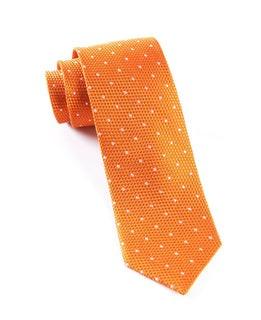 Grenafaux Dots Tangerine Tie