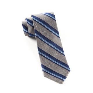 Social Stripe Grey Tie