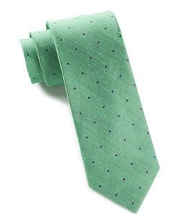 Bulletin Dot Kelly Green Tie