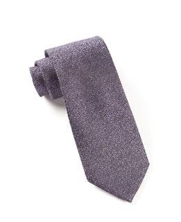 Graphite Solid Purples Tie