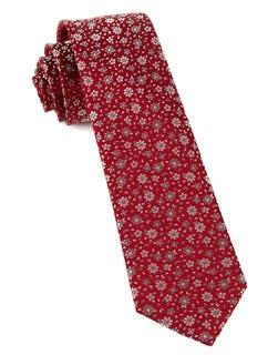 Milligan Flowers Red Tie