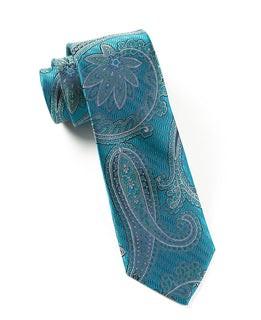 Utopia Paisley Teal Tie
