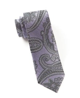 Utopia Paisley Lilac Tie
