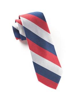 Draper Stripe Red Tie