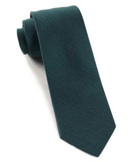 Astute Solid Green Teal Tie