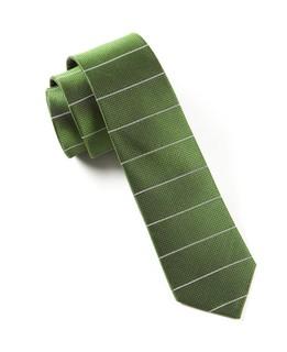 Institute Stripe Green Tie